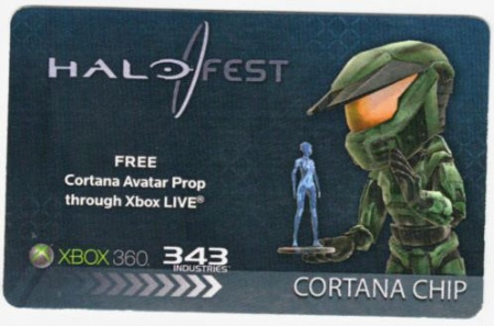 Halofest Cortana Chip is not so rare after all…   | Inside