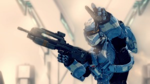 Halo 4 War Games Blue Spartan