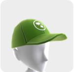 XA GREEN HAT